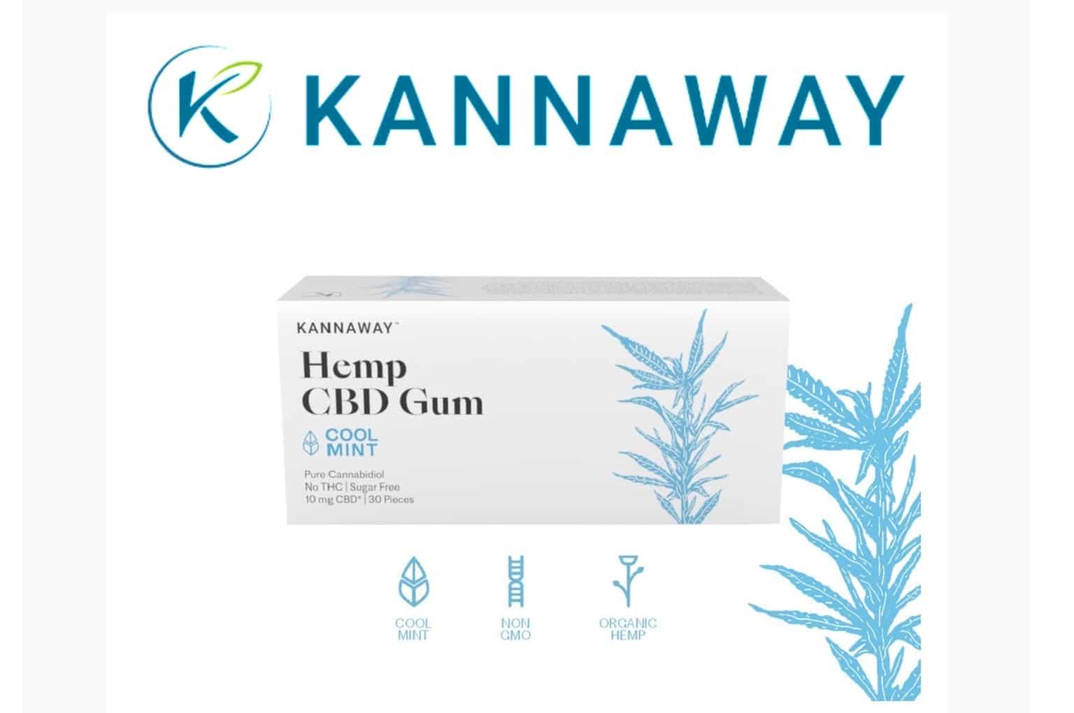 Kannaway Launches New Hemp CBD Gum – Cosmique UK